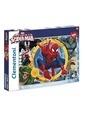 Clementoni Spiderman Ultimate (104 parça) Renkli